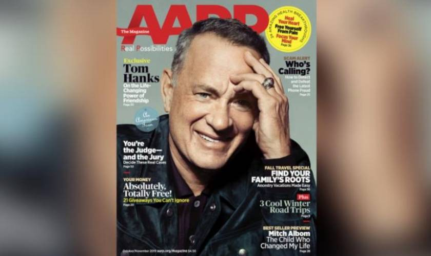 Tom Hanks credits two friends for changing the course of his life