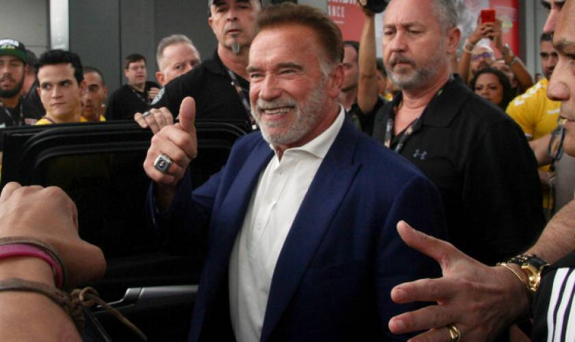 Arnold Schwarzenegger Confirms He's OK After Being Dropkicked By an 'Idiot'