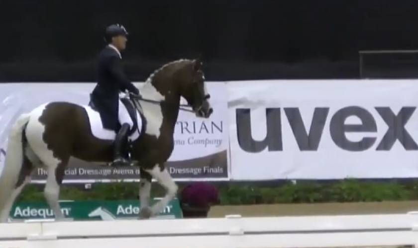 Watch Why They Won: Adiah HP Lights Up For Her Fans At U.S. Dressage Finals
