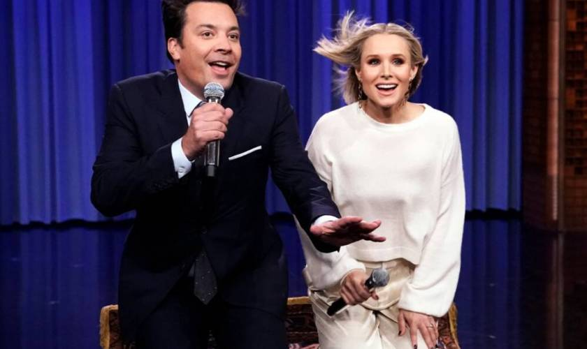 Kristen Bell and Jimmy Fallon's History of Disney Songs Is Absolutely Magical