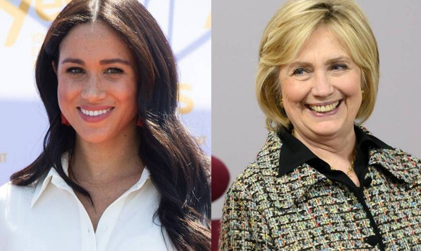 Meghan Markle Secretly Invites Hillary Clinton to Her Home and Introduces Her to Baby Archie
