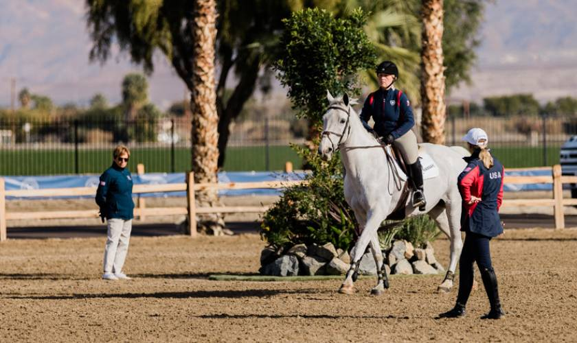 """""""Simplicity Done Well"""" Is The Theme Of USHJA Gold Star Clinic With Kirsten Coe"""