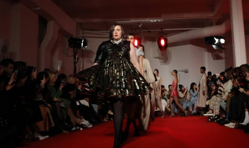 Lena Dunham on Walking Her First Runway at London Fashion Week