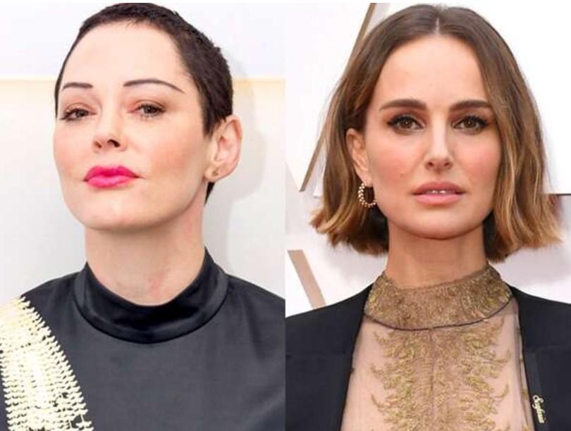 "Rose McGowan Slams Natalie Portman's ""Deeply Offensive"" Oscars Outfit"