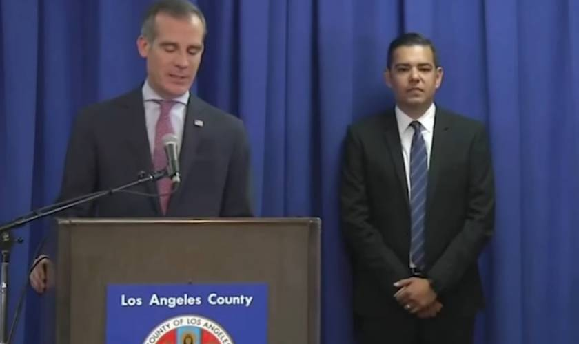L.A. orders all nonessential businesses closed, bans public gatherings of any size