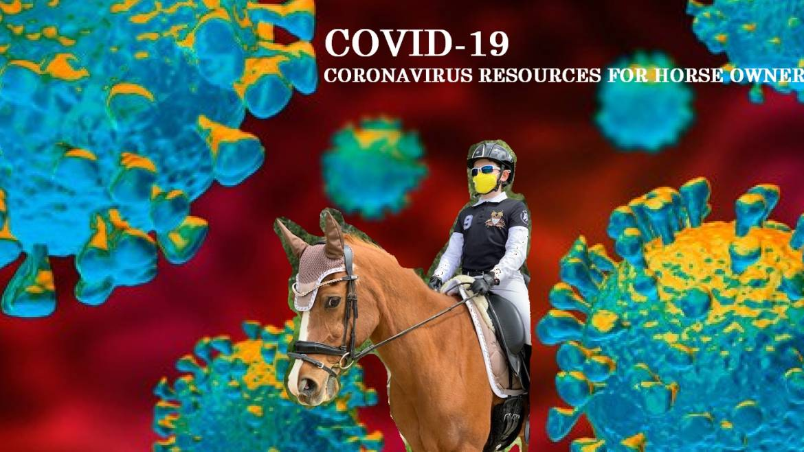 CORONA VIRUS Covid-19 RESOURCES FOR HORSE OWNERS