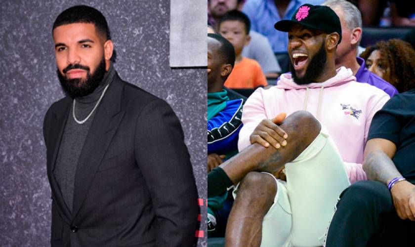 Drake Chills Courtside With LeBronJames 2 Days After Reuniting With KylieJenner
