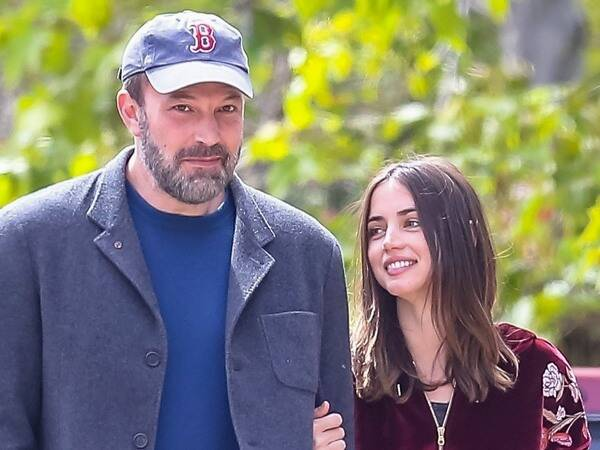 Ben Affleck and Ana de Armas Pack on the PDA During Afternoon Stroll